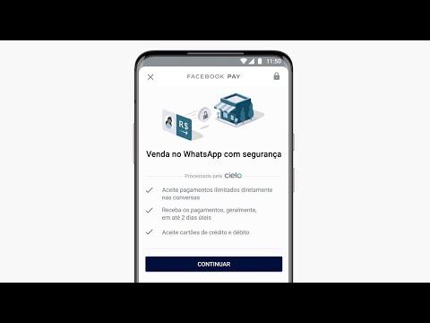 Configure o recurso de pagamentos no WhatsApp Business (Brasil)