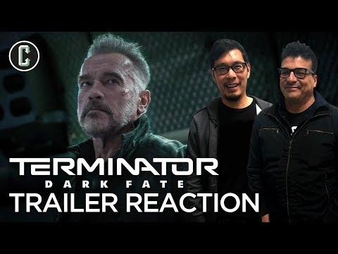 Terminator Dark Fate Teaser Trailer Reaction & Review