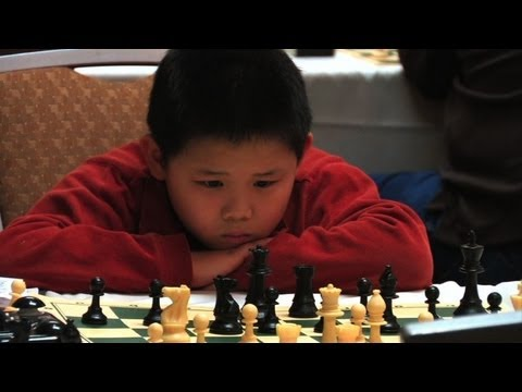 Awonder Liang, the eight-year-old chess prodigy