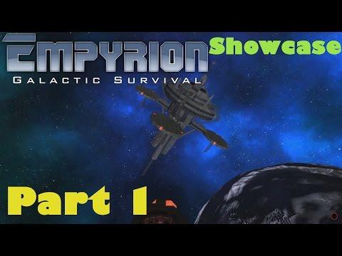 Empyrion - Galactic Survival / SHOWCASE Part 1: Deep Space Outpost / Scout. MK1 / Heavy Corvett
