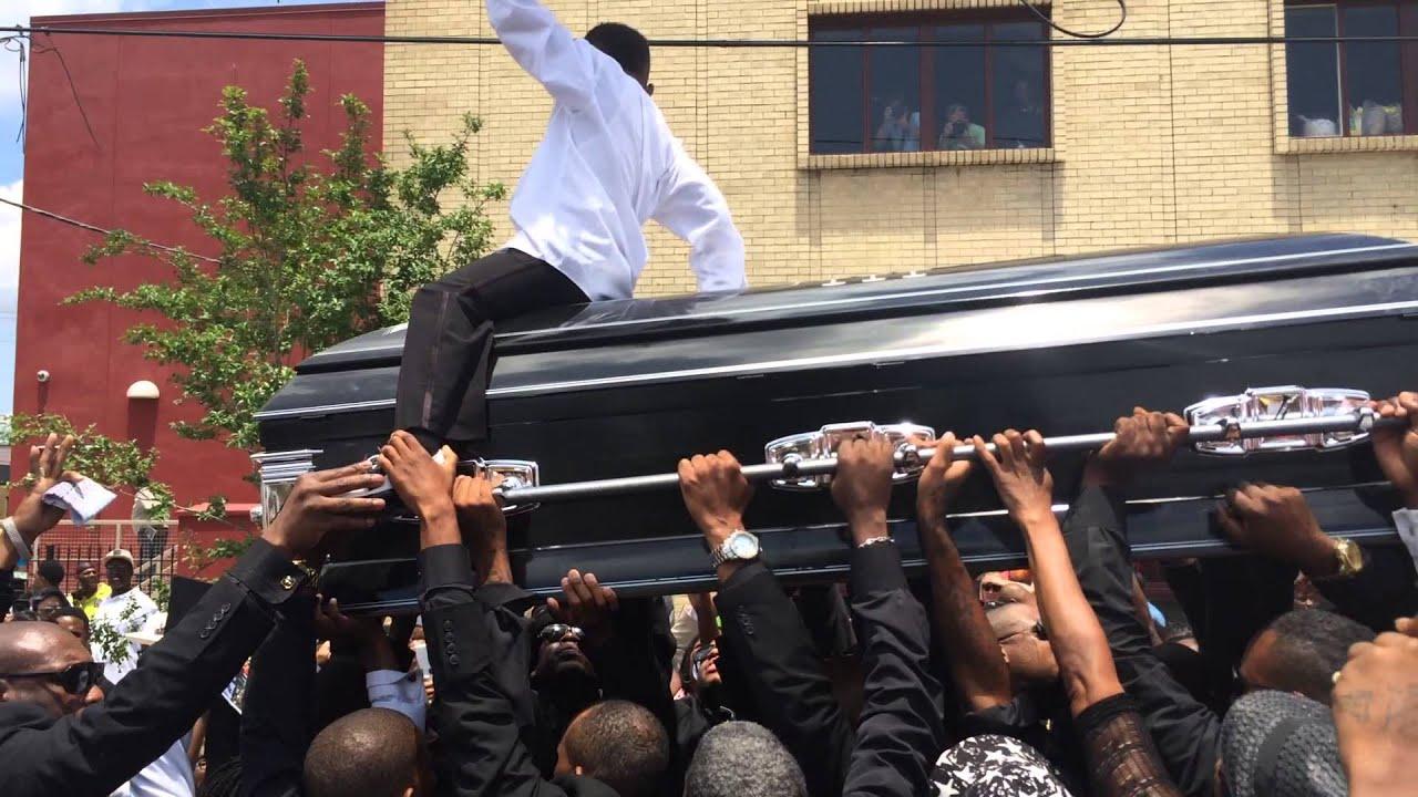 Video of ebony in mortuary