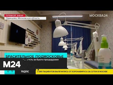 Как работают открывшиеся салоны в Подмосковье - Москва 24