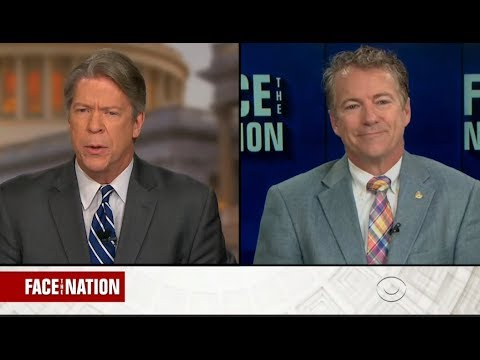Senator Rand Paul joins Face The Nation to discuss excessive federal spending