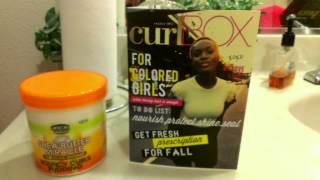 My First CurlBOX October 11, 2012