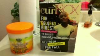 My First CurlBOX October 11, 2012