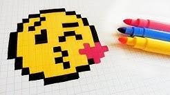Handmade Pixel Art How To Draw A Emoji Pixelart