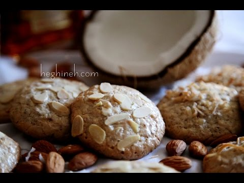 Almond Coconut Cookies Recipe - Heghineh Cooking Show