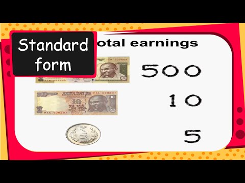 Maths How To Read And Write Numbers In Standard Form Part 1