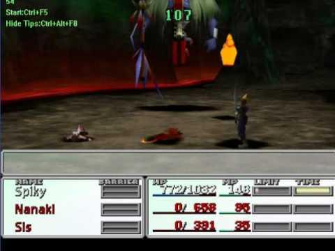 Final Fantasy VII - SCNIIWNANES Challenge - West Continent