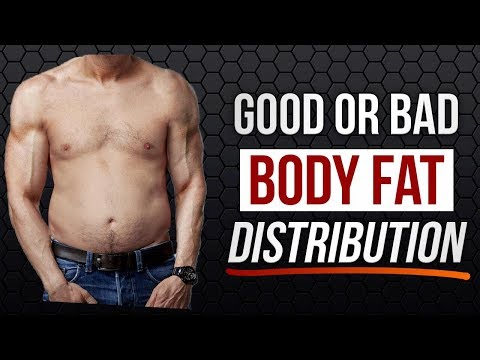 How Good is your BODY FAT DISTRIBUTION? | Vitruvian Model of Genetics