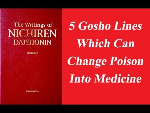 5 Gosho Lines Which Can Change Poison Into Medicine