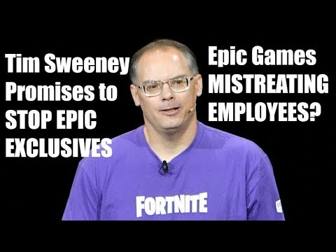 Tim Sweeney Promises to STOP Epic EXCLUSIVES