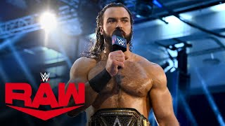 Drew McIntyre responds to Randy Orton: Raw, July 27, 2020