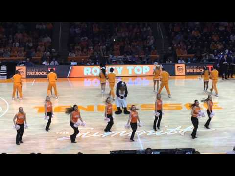 University of Tennessee Cheerleaders and Dance Team