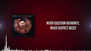 Arch Enemy - The Race (LYRICS VIDEO HD)