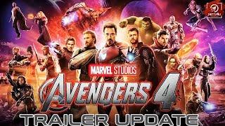 Avengers 4 Trailer Update   Iron Man   Thor   Thanos   Hulk   Marvels Studio