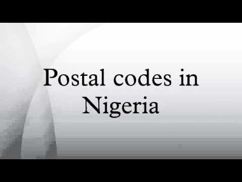 Postal codes in Nigeria