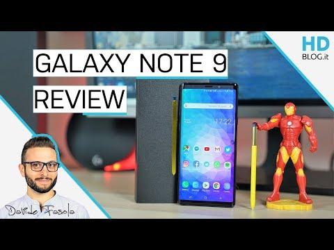 RECENSIONE Samsung Galaxy NOTE 9: lo SMARTPHONE PERFETTO?