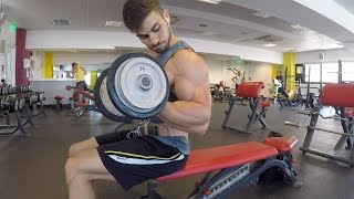 Top 5 Exercises To Build Huge Biceps!💪