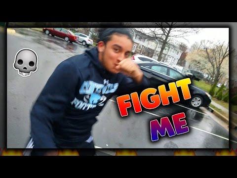 FIGHT ME BRO