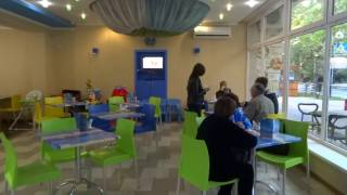 Уютное приморское кафе