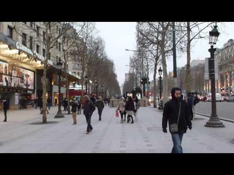Paris Vlog: Champs Élysées