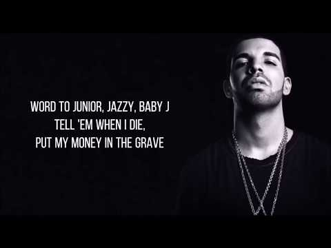 Drake - Money In The Grave (Lyrics) ft. Rick Ross