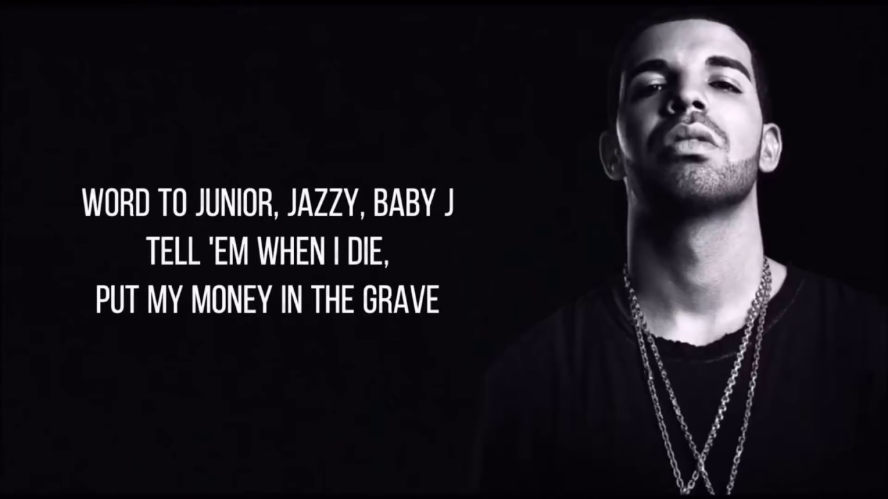 11087a048fe6 Drake - Money In The Grave ft. Rick Ross (Lyrics) - YouTube