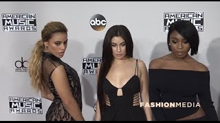 Fifth Harmony 2016 American Music Awards Red carpet