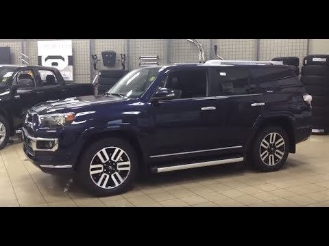 Toyota Forerunner 2018 >> 2018 Toyota 4Runner Limited Review - YouTube