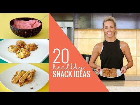 20 HEALTHY SNACKS!