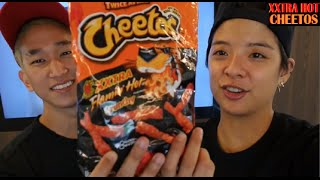 One of Amber Liu's most viewed videos: SM FAMILY reacts to XXTRA HOT Cheetos