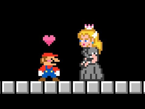Bowsette in Super Mario Bros.