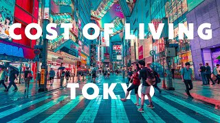 Cost of living in Tokyo Japan