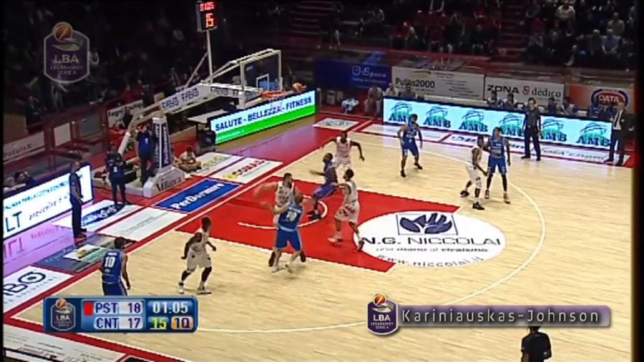 VIDEO-LEGABASKET] 12°TURNO, LA TOP TEN - BasketItaly it