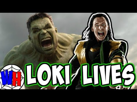 LOKI'S ALIVE After Infinity War Posing as BRUCE BANNER Theory! | Webhead