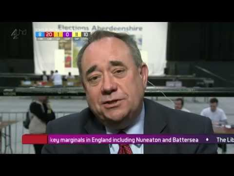 Alex Salmond interview: 'Scottish lion is roaring which Westminster can't ignore'