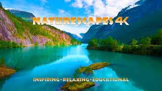 NATURESCAPES 4K DEMO Oceans Mountains Rivers Waterfalls Forest Wildlife Rain and Birds