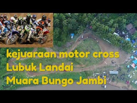 Tumpahnya Penonton Motor Cross Lubuk Landai Jambi Muaro Bungo 2019