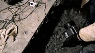 Самодельный  отбойный молоток (электрический)