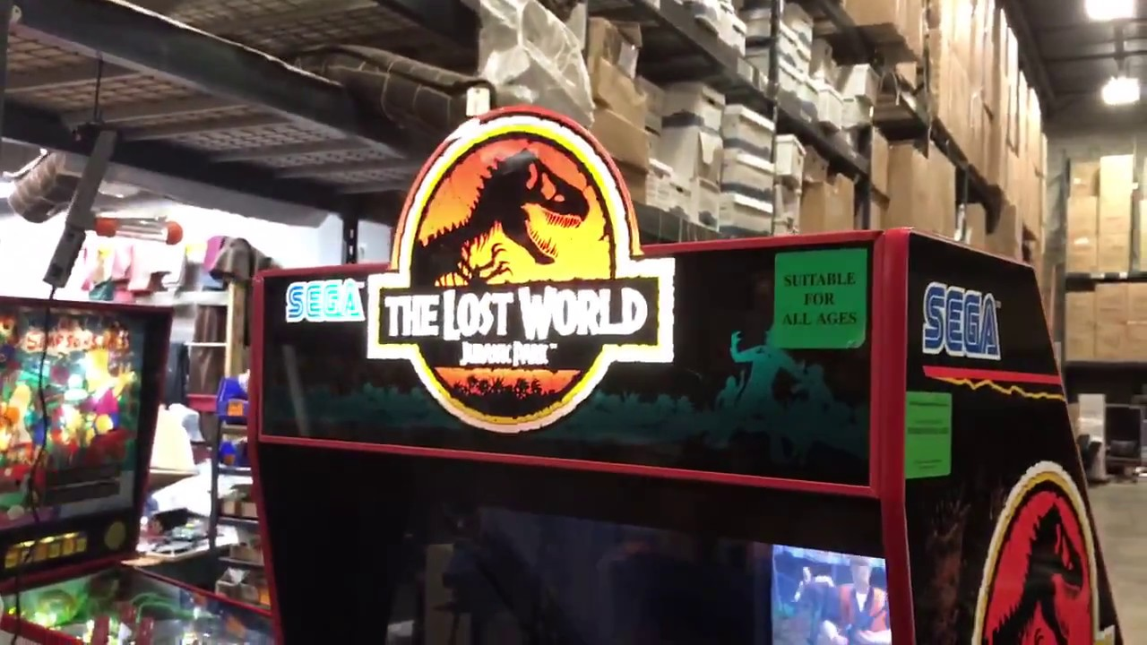 The Lost World Jurassic Park Arcade Game - YouTube