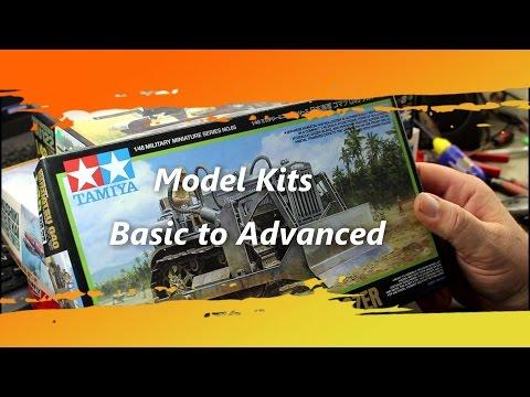 Scale Model Kits Basic to Advanced