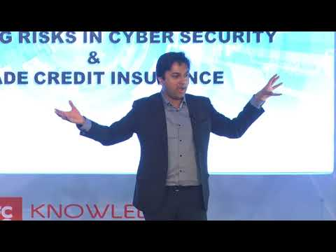 Saket Modi, Ethical Hacker & CEO of Lucideus Tech., speaks at the HDFC ERGO Knowledge Series event