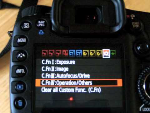 how to set up back button focus 70d