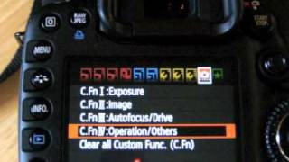 How to Set Back Button Focus on a Canon 7D