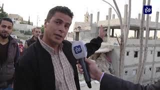 مواطنون يتهمون الأمانة بالتقصير إثر حادث انهيار في حي عدن