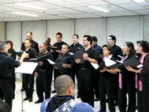 CORRENTEZA - Coral do TRF3 (Tribunal Regional Federal 3ª Região) - Sarau do TRF3