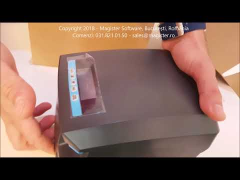 Unboxing Imprimanta Fiscala Datecs FP700 by Magister Software