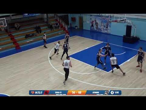 НБА 08.02.2020 1/8 II группа. ЗОНА 51 - АТОМИК