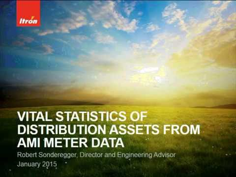 Vital Statistics of Distribution Assets from AMI Meter Data Webcast